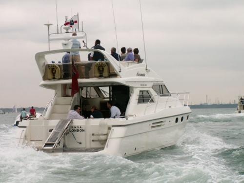 Acamas luxury boat charter River Hamble